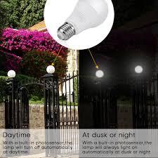 Westek Slc6cbc 4 100w Programmable by Smart Sensor Led Bulb Eecoo 7w Dusk To Dawn Light Bulb Built In