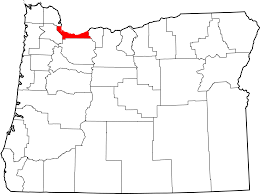 oregon county map file map of oregon highlighting multnomah county svg wikimedia