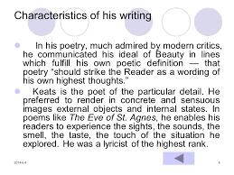biography definition and characteristics john keats 1 biography 2 characteristics of his writing 3 selected