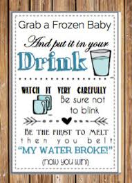 my water baby shower baby shower printable my water