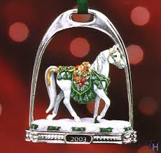 2003 stirrup ornament by breyer
