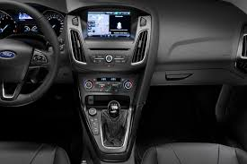 ford focus interior 2016 new ford focus gets a sharper grille and