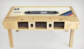 cassette tape coffee table for sale cassette tape coffee tables cool material