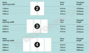cabinet door sizes chart minimalist aluminium sliding wardrobe door track set