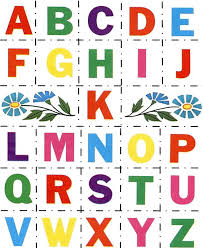 cut outs alphabet cut paste abc activity sheets cutouts honkingdonkey
