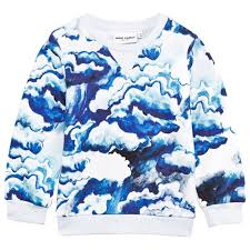 mini rodini clouds sweatshirt alexandalexa