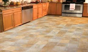 Vinyl Kitchen Flooring by Orange Vinyl Floor Tiles U2013 Thematador Us