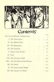 contents 1 u2014 u2014 hugh thomson illustrations the scarlet letter