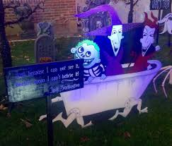epic nightmare before christmas yard