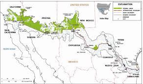 Us Mexico Map Us Mexico Border Map Cities Border Intro Thempfa Org