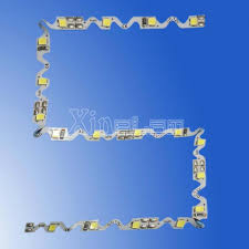 s shape bendable 2835 led flexible strip light rx fpc28s