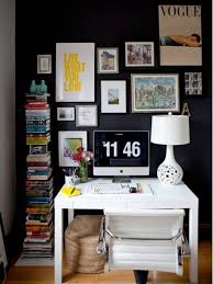 Office Wall Decor Ideas Wall Ideas Design Contemporary White Home Office Wall