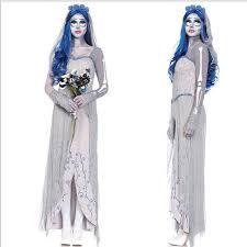 Corpse Bride Costume Tim Burton U0027s Corpse Bride Cosplay Dresses Ghost Zombie Bride