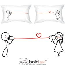 His And Her Wedding Gifts Boldloft Say I Love You Couples Pillowcases Couples Gifts Couple