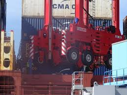 new straddle carrier kalmar brand arrived to lict with total value