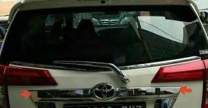 Daihatsu Sigra Trunk Lid Cover Chrome dijual j s l trunk lid trunklid chrome model calya sigra merk