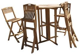 Drop Leaf Table And Folding Chairs 39