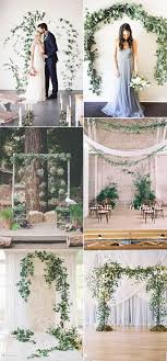 wedding backdrop greenery 60 amazing greenery wedding details for your big day 2017
