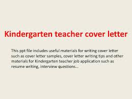 bunch ideas of cover letter for kindergarten teacher job on sample