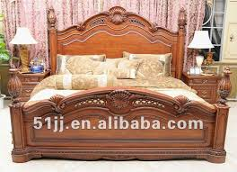 wooden meubles fancy bedroom furniture european classic wooden bed xy 3032