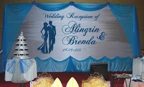 wedding backdrop blue vineeta s of backdrops for weddings