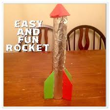 guest post easy rocket ship craft for kids u2013 only passionate