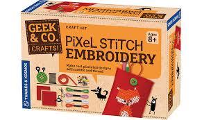 craft kits pixel stitch embroidery