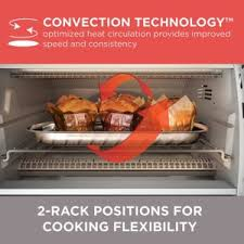 Toaster Oven Black Decker Black U0026 Decker Cto6335s Digital Convection Toaster Oven Review