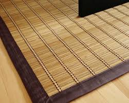 Bamboo Home Decor by Decor Winsome Pearl River Bamboo Rugs Natural Fiber Material With