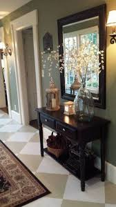 entry way table decor 27 welcoming rustic entryway decorating ideas that every guest will