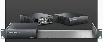 Audio Video Equipment Racks Blackmagic Design Teranex Mini