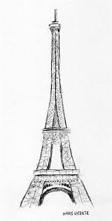 sketches for 2014 number 19 u2014 eiffel tower art fn