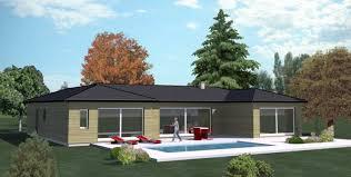 plan de maison plein pied gratuit 3 chambres construction 86 fr plan maison ossature bois plain pied type 5