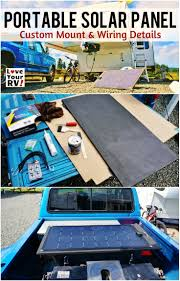 Portable Rv Patio by Building A Portable Solar Panel For My Rv Boondocking
