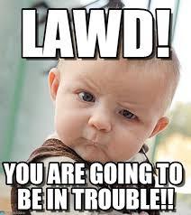 Lawd Meme - lawd sceptical baby meme on memegen