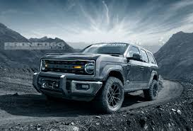 Last Year Ford Ranger I U0027m Obsessed With These New 2020 Ford Bronco Renderings