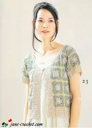 cute jacket pattern jane crochet com cute crochet jacket of square motifs crochet