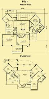 Tuscan Villa House Plans by Contemporary Tuscan House Plan 75217 Level One Luxury House