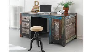 Schreibtisch Massivholz Goa Von Wolf Möbel In Massivholz Mango