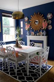 How To Decorate A Dining Room Wall Best 25 Blue Dining Rooms Ideas On Pinterest Blue Dining Room
