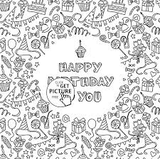 printable birthday cards that you can color printable birthday cards to color happy birthday card coloring pages