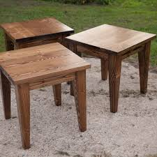 rosewood tall end table coffee brown o knockout solid wood end table set tables storage shaker with