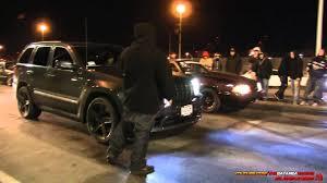 srt8 jeep dropped nitrous jeep srt8 vs nitrous mustang youtube
