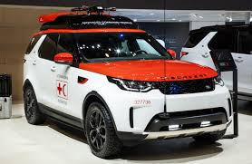 red land rover land rover reveals project hero at geneva show discovery with