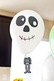 diy halloween balloons with