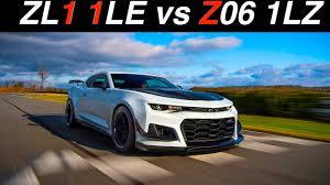 camaro zl1 vs corvette z06 2018 camaro zl1 1le or 2017 corvette z06 1lz