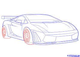 drawn car lamborghini pencil and in color drawn car lamborghini