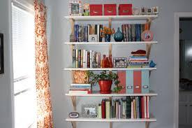 white wall mounted bookshelves decorating ideas gyleshomes com