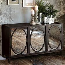 storage furniture mirrored buffet