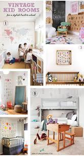 Vintage Kids Desk by The Stork Is Coming Kids Room With A Vintage Study Corner